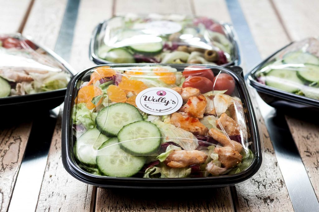 Wally´s – Coffee and More - Ceasar's Salat to-go
