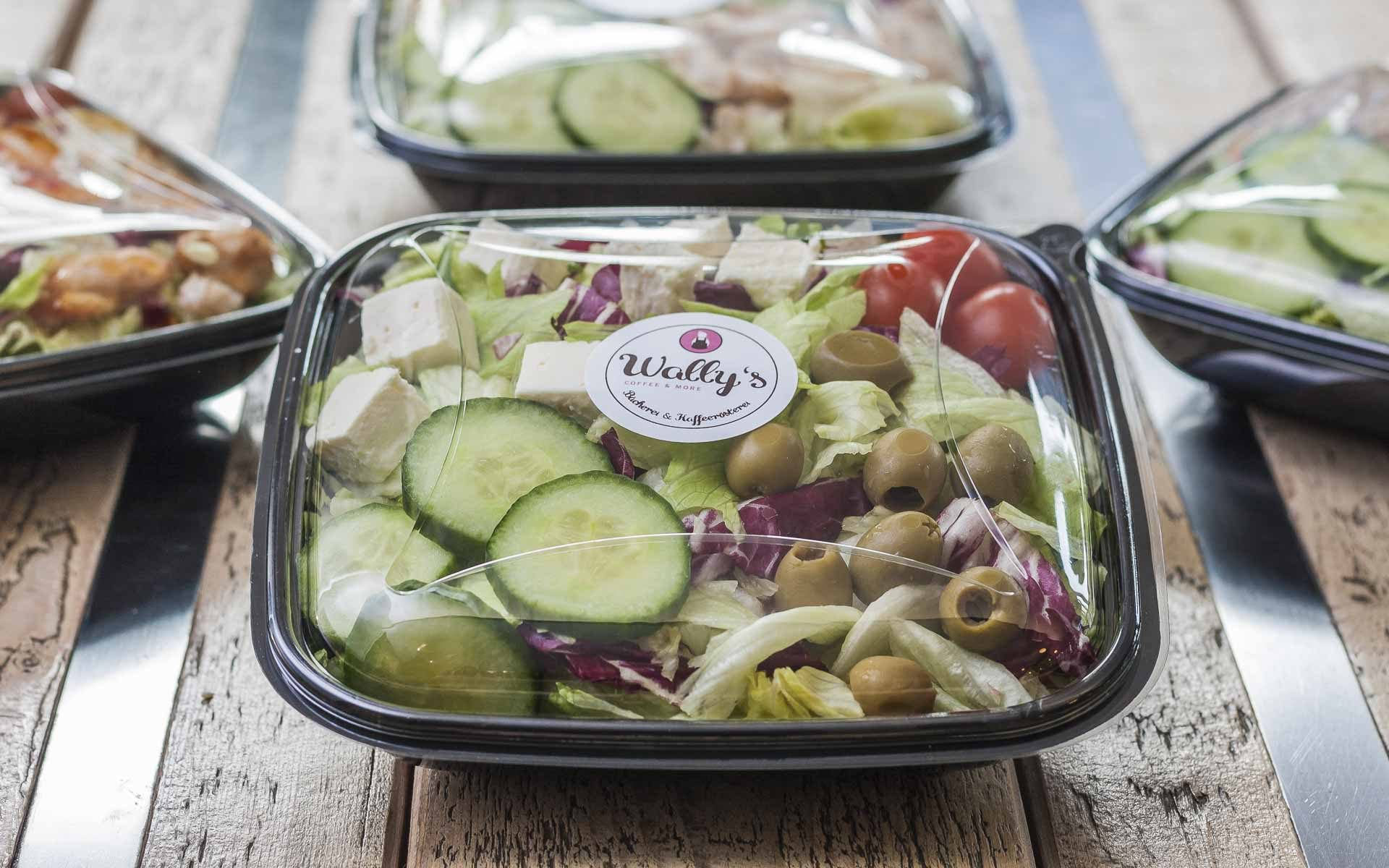 Wally's – Feta Käse Salat to-go