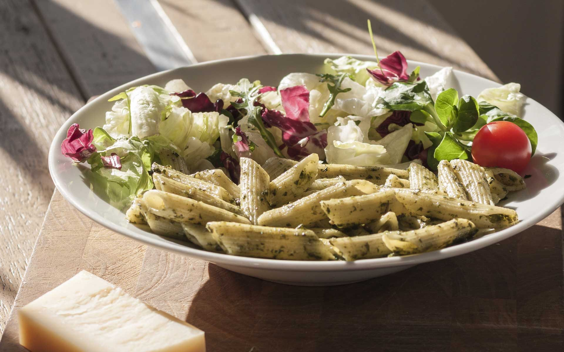 Wally's – Pasta-Penne-Pesto